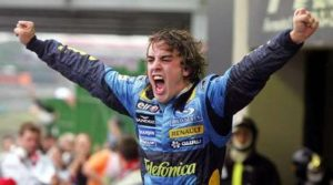 Fernando is F1 World Champion 2005