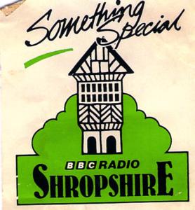 BBC Radio Shropshire logo, 1985